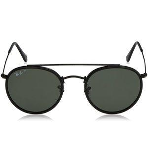 NIB Ray-Ban unisex polarized round sunglasses